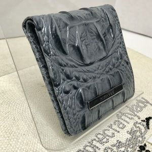 Brahmin Jane Wallet MALLARD MELBOURNE Leather NEW